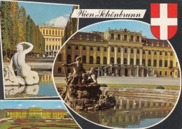 ZS44432  Wien Schonbrunn    2 Scans - Château De Schönbrunn