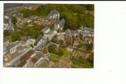 Court Saint Etienne Vue Aerienne Centre Ville  ( Etat Vois Dos Papier Collé ) - Court-Saint-Etienne
