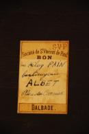 Bon Société De St Vincent De Paul Dalbade Toulouse - Historical Documents