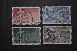 1947, Nos 398 à 401 Oblitérés (défauts Minimes) - Gebraucht