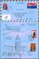 (0007) Aérogramme Rallye Aérien De Tunisie 1989 - Luftpost