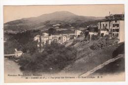 CPA/V793/CAMBO VUE PRISE DES TERRASSES MONT URSUYA - France