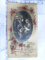 Joyeux Noël  !   Que Le Divin Enfant Jésus Soit à Jamais - 1936 - Devotion Images