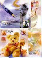 AUSTRALIA - 1999  PERSONAL GREETINGS   SIX  MAXIMUM CARDS - Cartoline Maximum