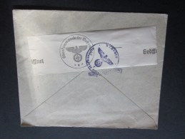 Censure Censor Allemande Oberfcommando Der Wehrmacht Peseux Neuchâtel Suisse Lettre Letter Cover>Wien Autriche 29/3/1941 - Suisse