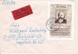 DDR Eil-Brief Mi.-Nr. Block 69 - Stempel Tangerhütte (0327) - Briefe U. Dokumente