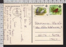 B8847 SEYCHELLES Postal History 1992 ANIMALS BIRDS - Seychelles (1976-...)