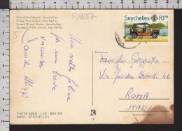 B8857 SEYCHELLES Postal History 1982 TRANSPORTATION MINI MOKE CAR - Seychelles (1976-...)
