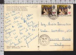 B8858 SEYCHELLES Postal History 1975 PIERRE DE POSSESSION PLACEO - Seychelles (1976-...)