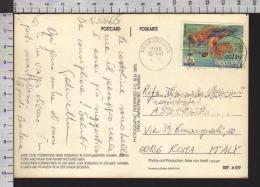 B8865 NAMIBIA Postal History 1996 SPORT  ATLANTA 1996 NUOTO SWIMMING BARRY JACKSON OLYMPICS - Namibia (1990- ...)