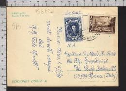 B8920 ARGENTINA Postal History 1971 GENERAL JOSE DE SAN MARTIN TIERRA DEL FUEGO RIQUEZA AUSTRAL BUENOS AIRES - Argentina