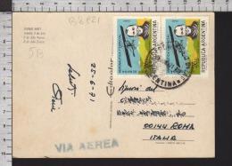 B8921 ARGENTINA Postal History 1971 SEMANA AERONAUTICA Y ESPACIAL JORGE NEWBERY BUENOS AIRES - Argentina