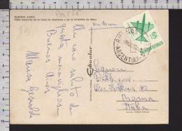B8925 ARGENTINA Postal History 1970 CORREO AEREO 68 PESOS BUENOS AIRES - Argentina