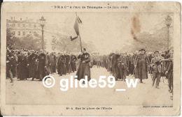 """""""DRAC"""" à L'Arc De Triomphe - 14 Juin 1925 - Sur La Place De L'Etoile - N° 4 (Photo Journal Excelsior) - Manifestaciones"""