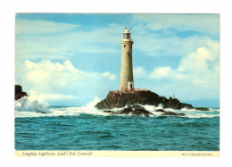 Royaume Uni: Longships Lighthouse, Land's End, Cornwall, Phare (13-2067) - Land's End