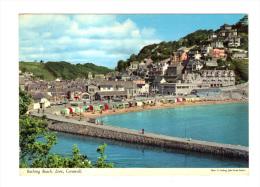 Royaume Uni: Bathing Beach, Looe, Cornwall (13-2069) - England