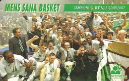 BASKETBALL * CHAMPIONS * LEGA BASKET * SPORT * TEAM * Mens Sana Basket * Italy - Sport