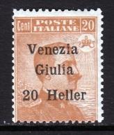 Italy Venezia Giuilia  N32  * - 8. WW I Occupation