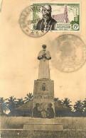 1953 Mgr Augouard  Carte Maximum  Yv PA55 - A.E.F. (1936-1958)