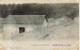 CPA GIEY SUR AUJON (Haute Marne) - Vue Générale Du Champ De Tir - Frankreich