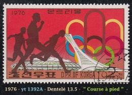 1976 - Asie - Timbre De  Corée  Du Nord - J.O. De Montréal - 2 Ch. Course à Pied - - Ete 1976: Montréal