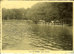 """CP Du Lac De VIRELLES """" Une Terrasse """" . - Chimay"""