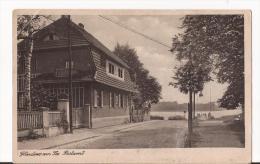CPA  Noir Et Blanc : Allemagne: Glindow Am See Postamt - Allemagne