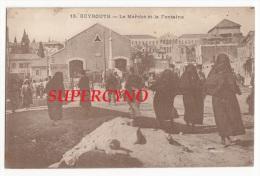 LIBAN N°13 BEYROUTH LE MARCHE ET LA FONTAINE - Postcards