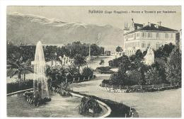 CARTOLINA - PALLANZA - LAGO MAGGIORE - PIAZZA E TRAMVIA PER FONDATOCE - VIAGGIATA NEL 1912 - Verbania