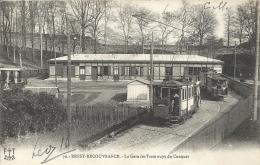 Finistère- Brest-Recouvrance -La Gare Des Tramways Du Conquet. - Brest