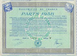 EDF Parts 1958 - Unclassified