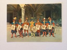 CALCIO IN COSTUME RAPPRESENTAZIONE DEL XVI Sec. VIAGGIATA - Costumi