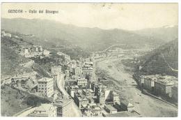 CARTOLINA -  GENOVA - VALLE DEL BISAGNO - VIAGGIATA NEL 1912 - SECONDA SCELTA - Genova (Genoa)