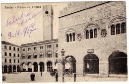 [DC8790] TREVISO - PALAZZO DEI TRECENTO- Viaggiata - Old Postcard - Treviso