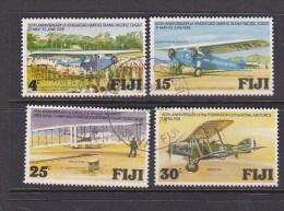 Fiji 1978 Aviation Used Set - Fiji (1970-...)