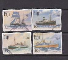 Fiji 1980 London 80 Expo Used Set - Fidji (1970-...)