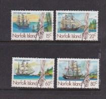 Norfolk Island 1985 Whaleship Used Set - Norfolk Island