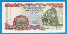 GHANA -  2000  Cedis  2002 SC  P-33 - Ghana