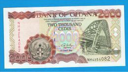 GHANA -  2000  Cedis  2003 SC  P-33 - Ghana