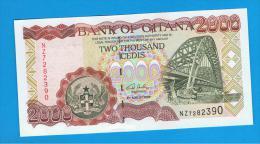 GHANA -  2000  Cedis  2006 SC  P-33 - Ghana
