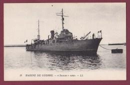 BATEAU GUERRE - 020713 - MARINE DE GUERRE - SOMME Aviso - Warships