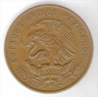 MESSICO 20 CENTAVOS 1965 - Messico