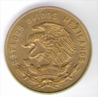 MESSICO 5 CENTAVOS 1968 - Messico