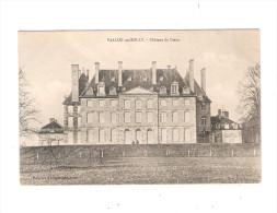 03 - VALLON En SULLY - Le Chateau Du Creux - Phototypie A. BERGERET Nancy - Autres Communes
