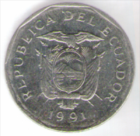 ECUADOR 10 SUCRES 1991 - Ecuador