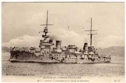 Marine De Guerre Française - PATRIE  Cuirassé De 1° Rang  (2° Escadre) (58130) - Oorlog