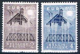 N° 1025/26 (*) - Plakker/trace Charnière  - Zie/voir Scan - Belgium