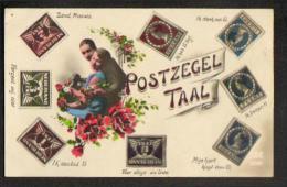 Fantaisie - Timbres - Postzegel Taal - Timbres (représentations)
