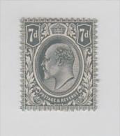 Great Britain  KE  7d  Mint Hinged #  49761 S - Neufs