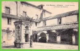 CIBOURE / ANCIEN COUVENT ET FONTAINE DES RECOLLETS .... / Carte Vierge - Andere Gemeenten